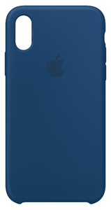 APPLE SILICONE CASE BLUE HORIZON FOR IPHONE XS