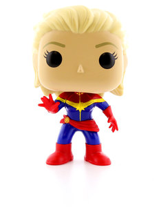 Funko Pop Marvel Captain Marvel Unmasked Vinyl Figure