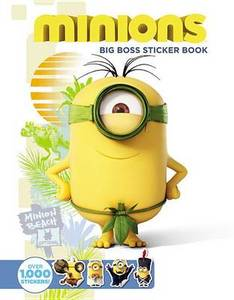 Minions Big Boss Sticker Book