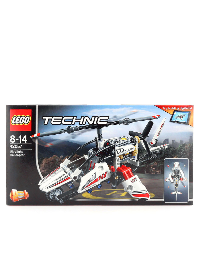 Lego Technic Ultralight Helicopter 42057 Building Blocks Science