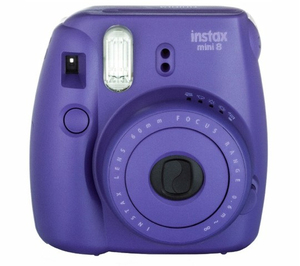 Fujifilm Instax Mini 8 Camera Grape