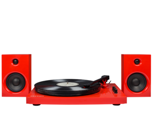 Crosley T100 Turntable System Red