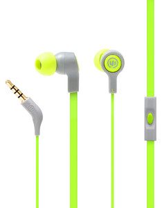 Wicked Audio Jekyll Swamp Thing With Mic Earbuds
