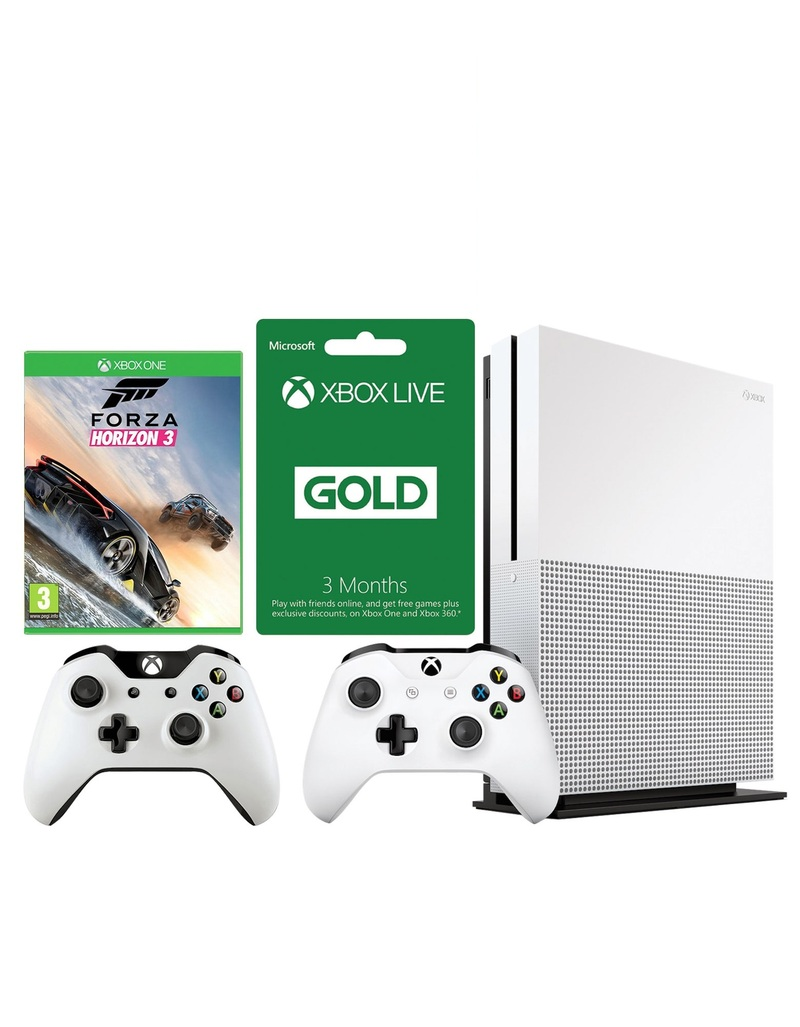 xbox one s 500gb forza horizon 3 3 months live. Black Bedroom Furniture Sets. Home Design Ideas
