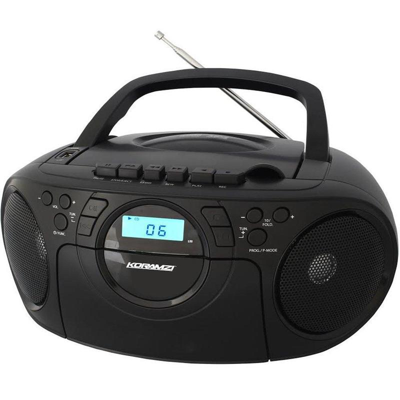 Koramzi Portable CD/Mp3 Boombox