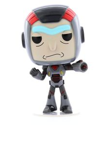 Funko Pop Animation Rick & Morty S6 Purge Suit Rick Vinyl Figure