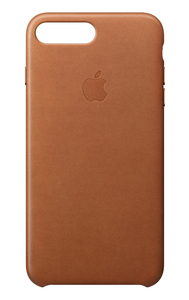 Apple Leather Case Saddle Brown for iPhone 8 Plus/7 Plus