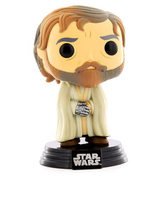 Funko Pop Star Wars: EP7 Luke Skywalker Bearded/Robe Vinyl Figure