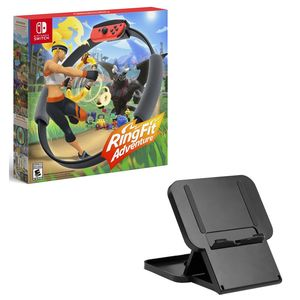 Ring Fit Adventure [US] + Snakebyte Game Stand - Nintendo Switch