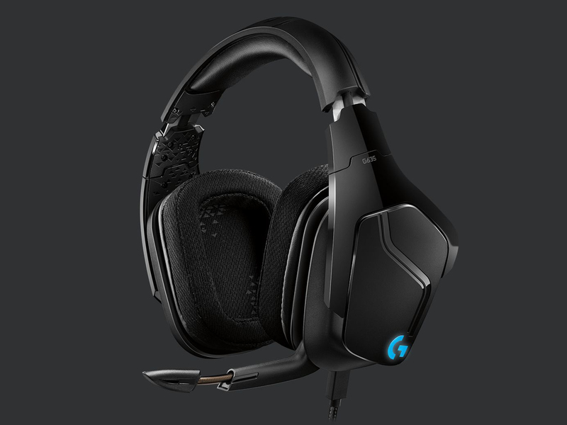 Logitech G635 USB Gaming Headset