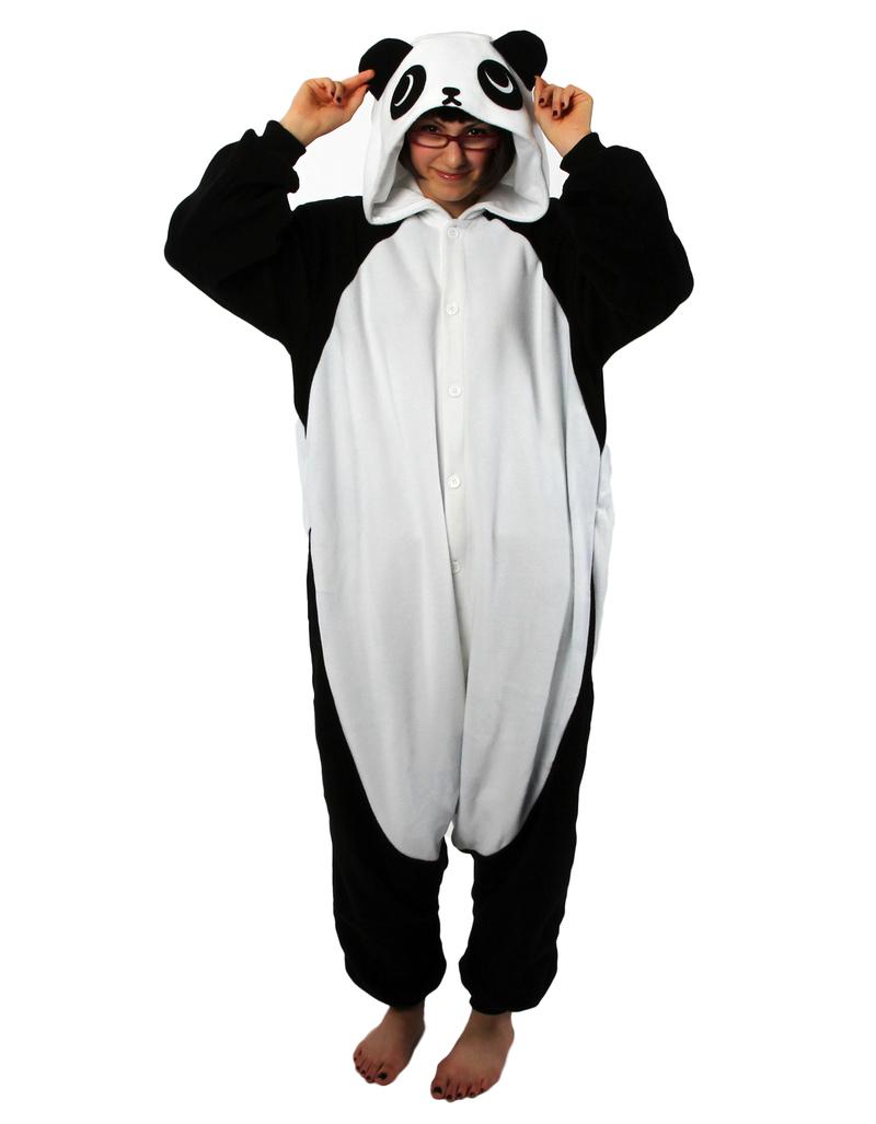 Panda Kigurumi Adult Fleece Costume Costumes Amp Dress Up