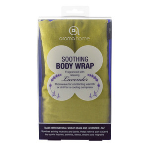 Aroma Home Lime Body Wrap
