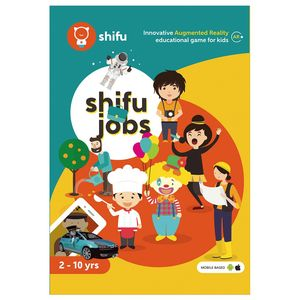 Shifu Jobs Educational Interactive AR Card Game for Kids