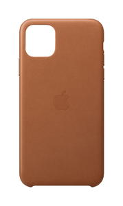 Apple Leather Case Saddle Brown for iPhone 11 Pro Max