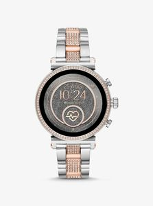 Michael Kors MKT5064 Silver/Gold Smart Watch 41mm [Gen 4]