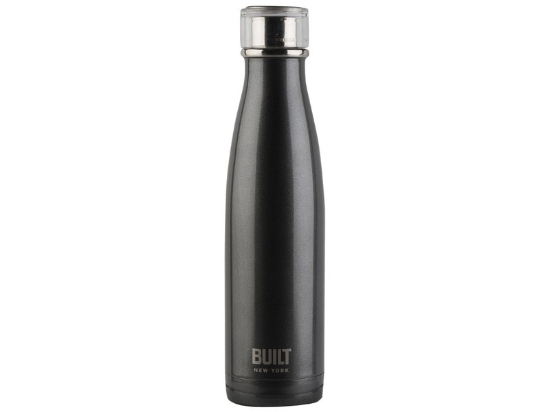 46b99108f29 Built Double Walled Stainless Steel Water Bottle Charcoal 500ml ...