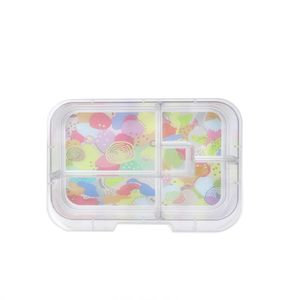Munchbox Midi5 Tray Artwork Pastel Multicolor Lunchbox