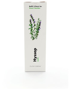 Click & Grow Smart Herb Garden Hyssop Refill [3 Pack]