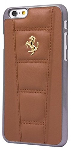 Ferrari 458 Leather Hard Case Camel Iphone 6