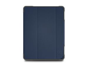 STM DUX Plus Duo Case Midnight Blue for iPad 10.2-Inch
