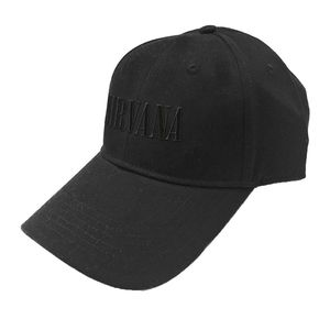 Ok Sales Nirvana Text Logo Baseball Cap Black