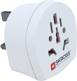 Skross World to UK White Adapter
