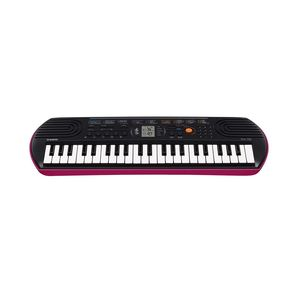 Casio SA78 44-Key Portable Electric Mini-Keyboard + ADE95100LE Power Adapter