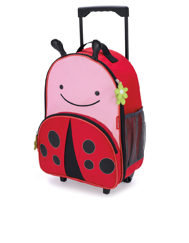Skip Hop Zoo Kids Rolling Luggage Ladybug Backpacks