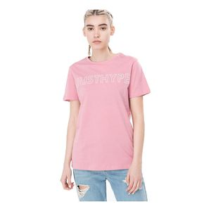 Hype Just Pink/White Women'S T-Shirt 8