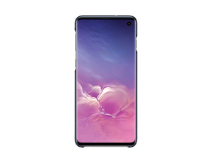 Samsung B1 LED Back Cover Black for Galaxy S10