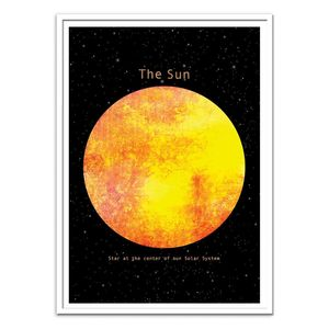 The Sun Art Poster by Terry Fan [30 x 40 cm]