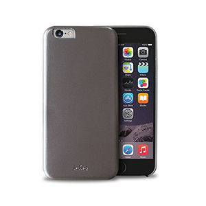 Puro Vegan Eco-Leather Cover Grey iPhone 6 Plus