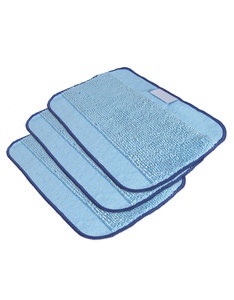 IROBOT MICROFIBER MOPPING CLOTHS FOR BRAVAA [3 PACK]
