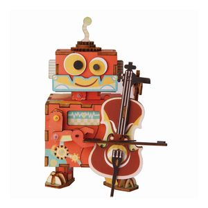 Robotime Rolife Little Performer Music Box DIY Kit