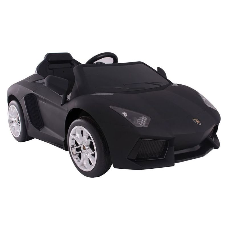 Lamborghini Aventador Electric Ride On Car Black Ride Ons