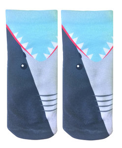 Living Royal Shark Bite Ankle Socks
