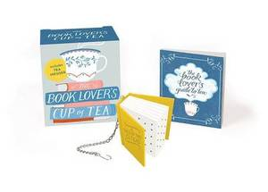The Book Lover's Cup of Tea: Includes Tea Infuser
