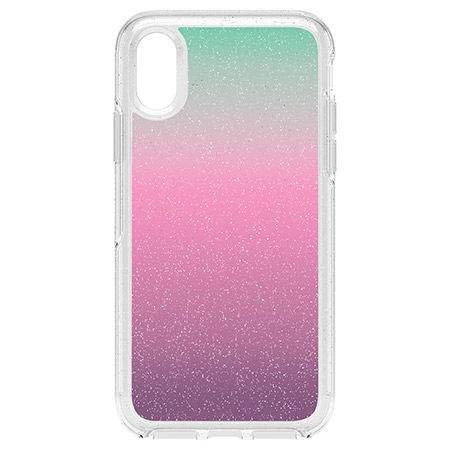 new product 4f28f fae60 OtterBox Symmetry Clear Gradient Energy Case for iPhone XS