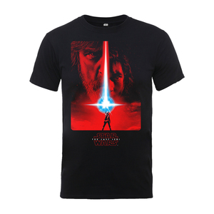 Plastic Head Star Wars The Last Jedi Poster T-Shirt Black