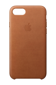 Apple Leather Case Saddle Brown for iPhone 8/7
