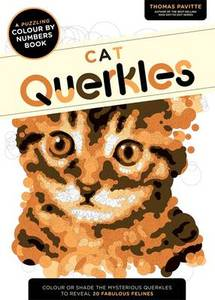 Cat Querkles: A Puzzling Colour-by-Numbers Boo