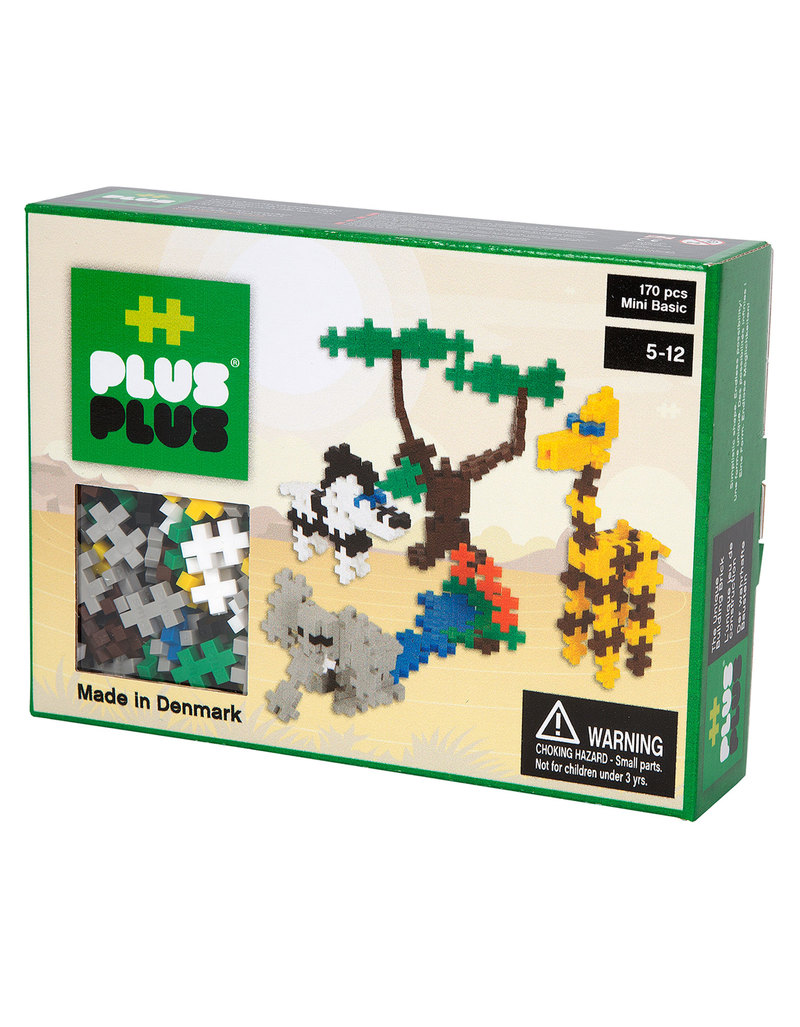 Plus Plus Mini Basic Savannah Building Blocks 170 Pcs