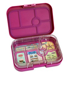 Yumbox Bijoux Purple 6 Compartments Lunch Box
