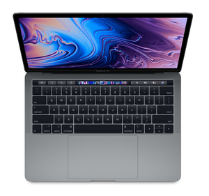 MacBook Pro 13-inch with Touch Bar Space Grey 2.3GHz Quad-Core 8th-Generation Intel-Core i5/256GB Arabic/English