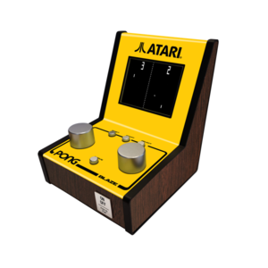Blaze Atari Pong Mini Arcade [12 Built-in Games]