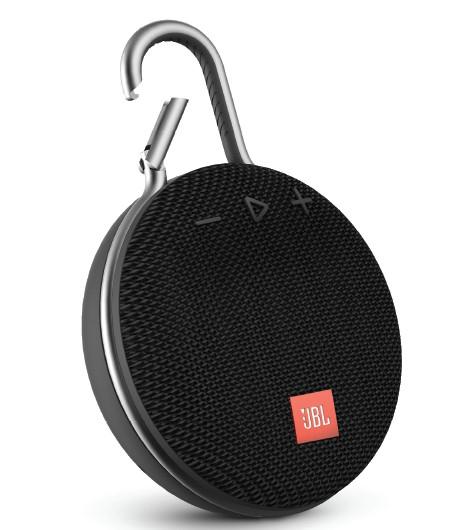 JBL Clip 3 Black Portable Bluetooth Speaker | Speakers & Docks | Headphones + Audio | Electronics & Accessories | Virgin Megastore