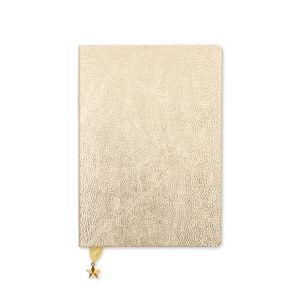 Go Stationery Metallic Light Gold All That Glitters A5 Diary Wtv Undated