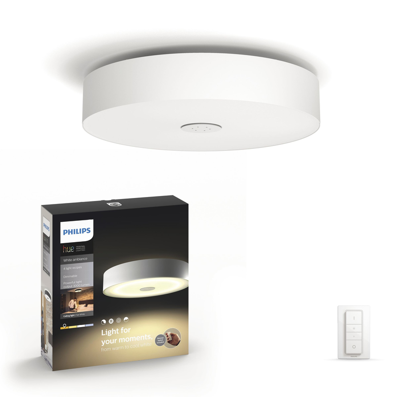 Moderigtigt Philips Hue White Ambiance Fair Ceiling Light | Lighting & Energy EN79