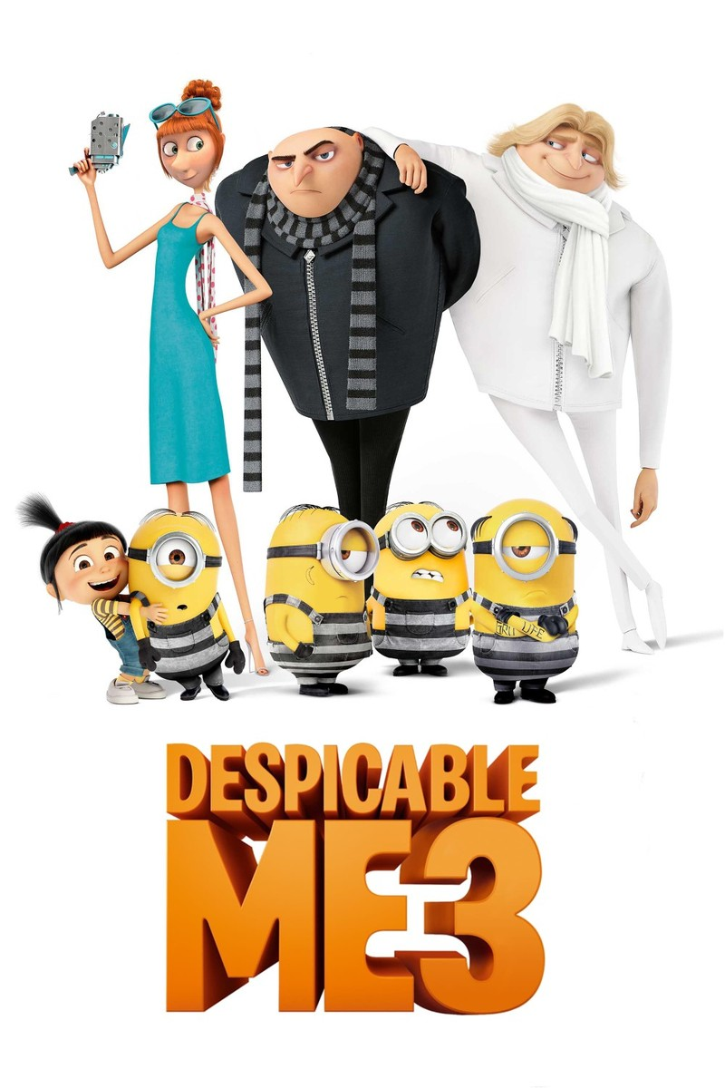 despicable me 3 3d blu ray region free