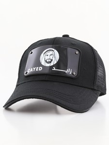Raqam Year of Zayed Plate No. Zayed Model 1 Black Uisex Cap